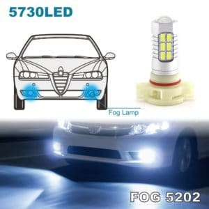 LED Fog Lights Bulbs