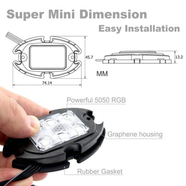Automotive LED Decorationg Light Kit