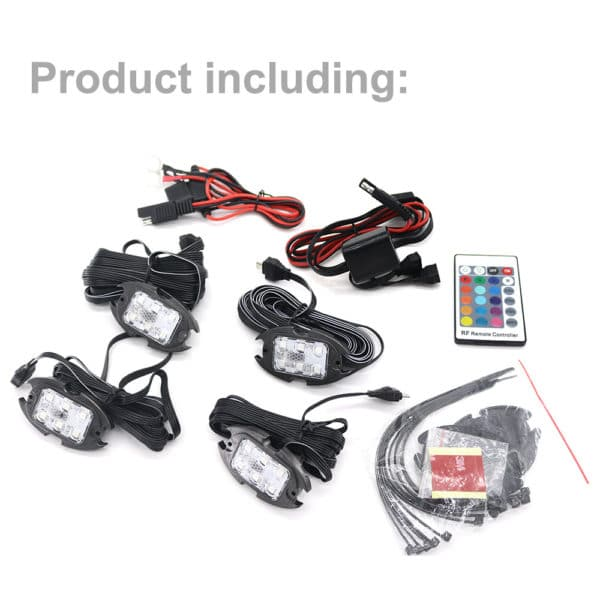 RGB Car LED Strobe Light APP