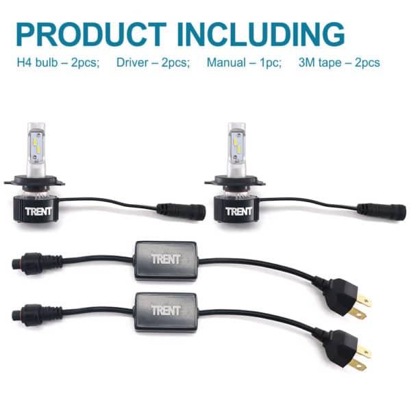 Truck LED Headlight Kit H4 9003