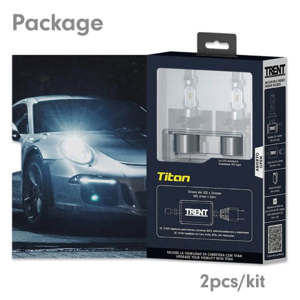 LED Headlight Replacement Bulbs