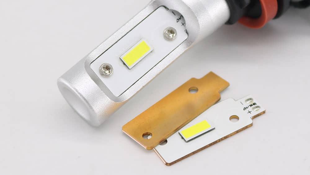 Copper PCB Board LED Headlight
