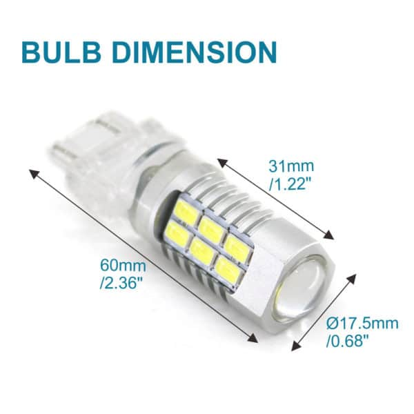 Easy Installation LED Car Replacement Bulbs 3157