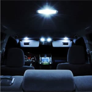 LED interior car lights