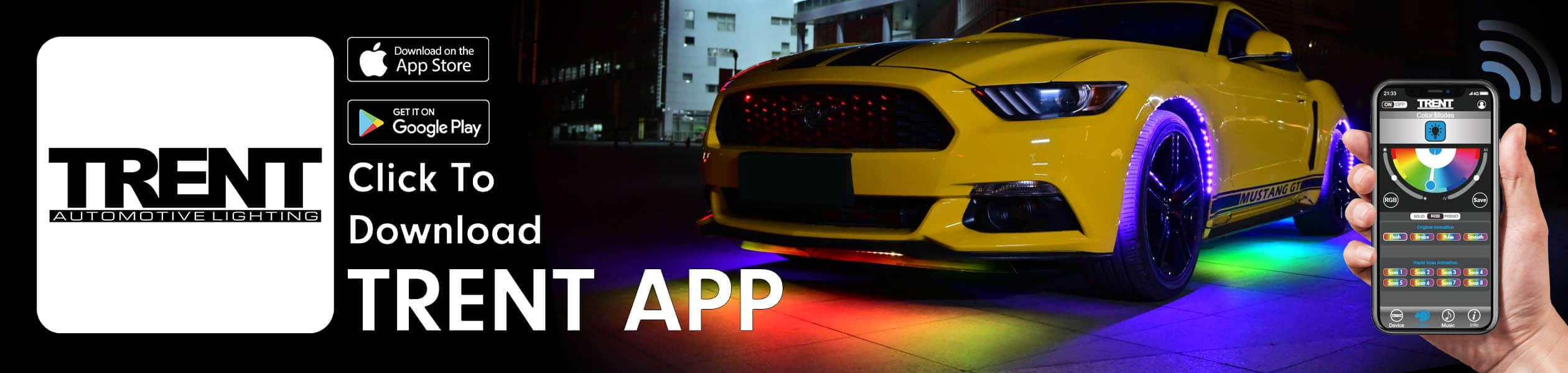 Auto LED APP Bluetooth Smart Lighting Download